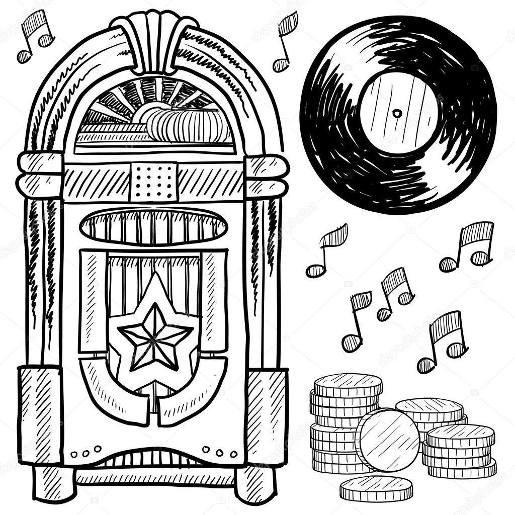 50s Records Coloring Pages Coloring Pages