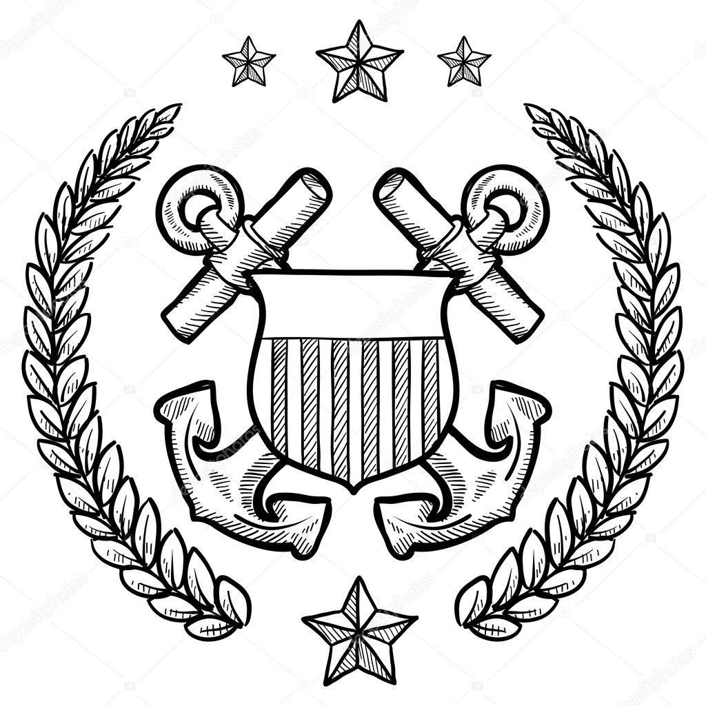 Us Coast Guard Military Insignia