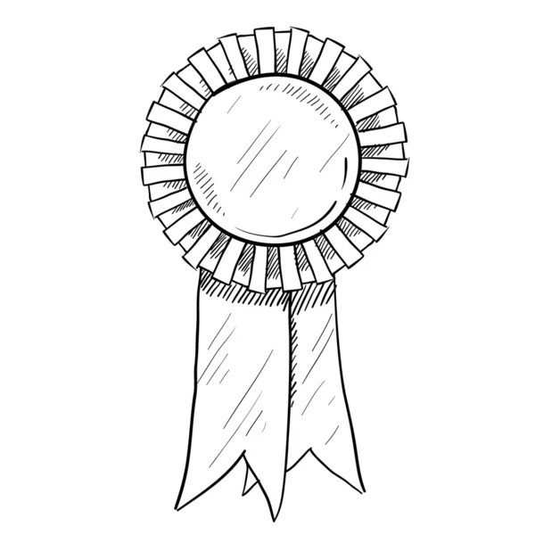 Trophy or award vector sketch — Stock Vector © lhfgraphics