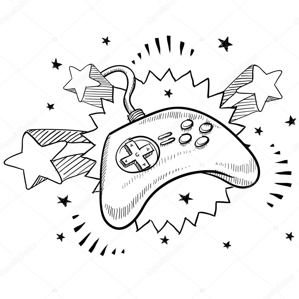 Xbox Game Controller Coloring Pages Coloring Pages