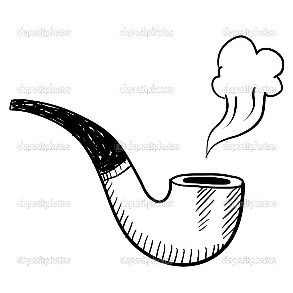Tobacco Pipe Sketch