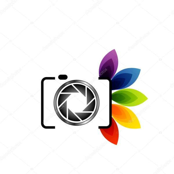 Logo With Colorful Leaves Stock Vector