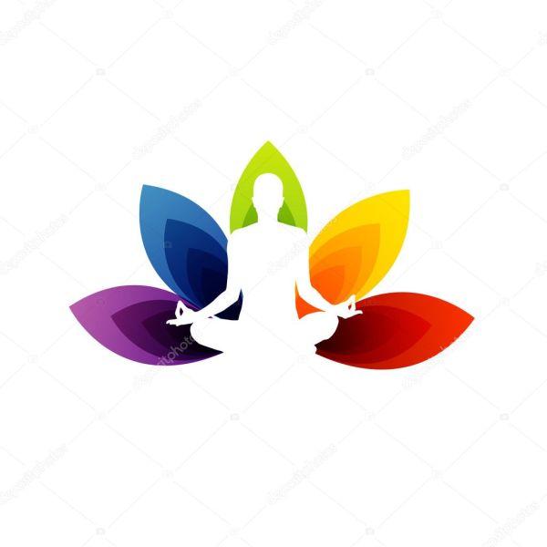 Yoga Logo Stock Vector Sanayamirza #18995555