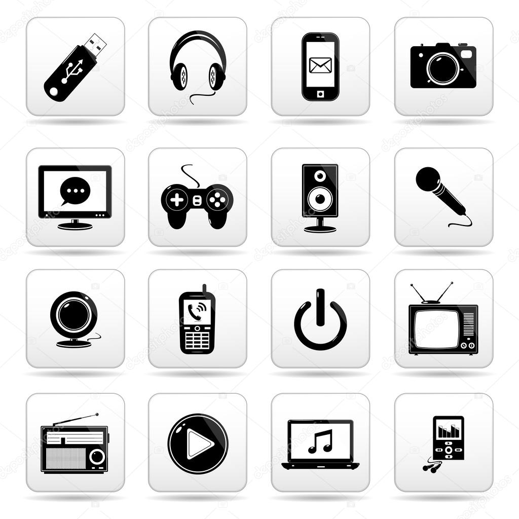 Iconos Tecnologia Web