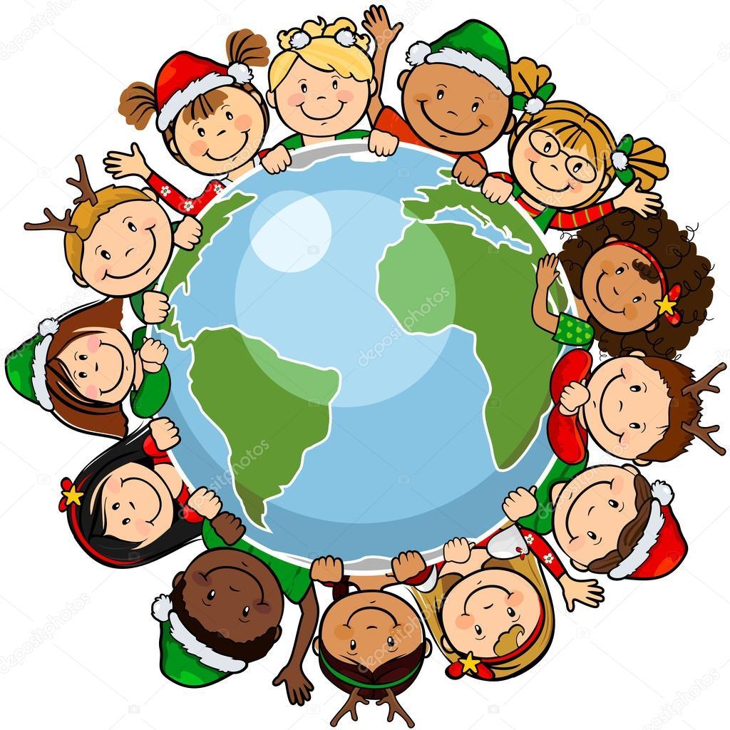Globe De Noel Enfants