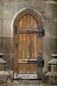 Old wooden door  Stock Photo  bizoon #18158869