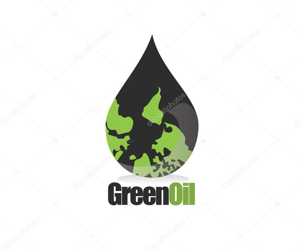 green earth oil drop