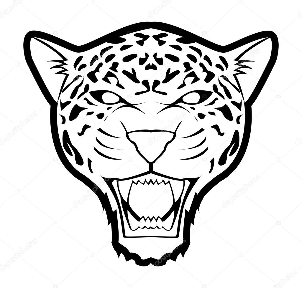 Vector Illustration Of Jaguar