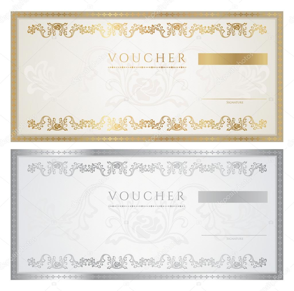 Gift Certificate Backgrounds Vertical
