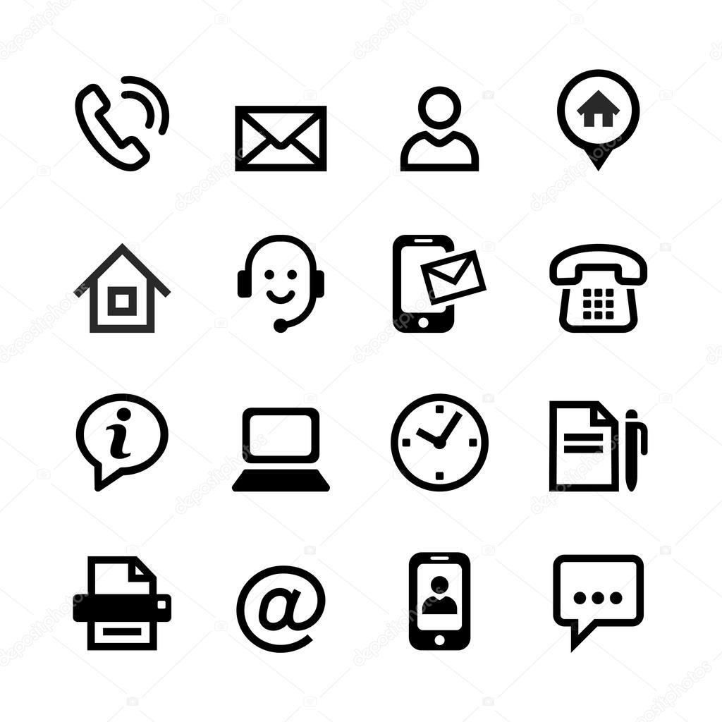 Set 16 Basic Icons