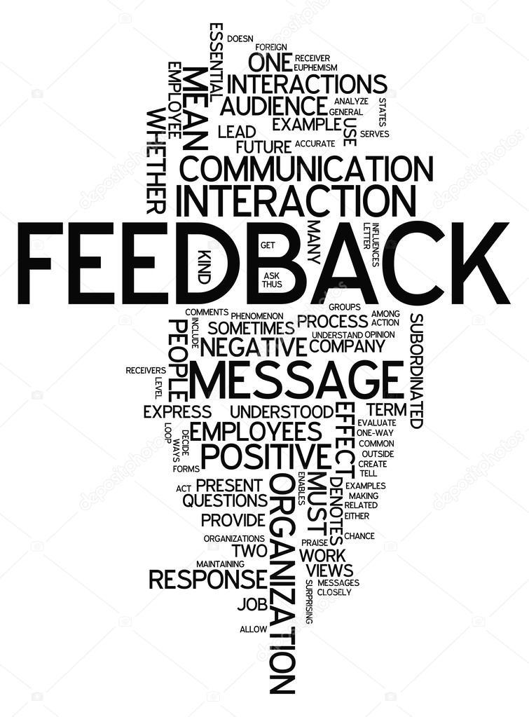 Word Cloud Feedback — Stock Photo © mindscanner #40542867