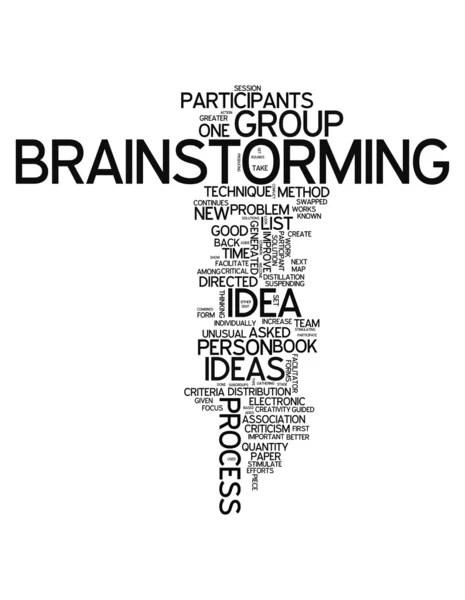 Word Cloud Brainstorming — Stock Photo © mindscanner #38603391