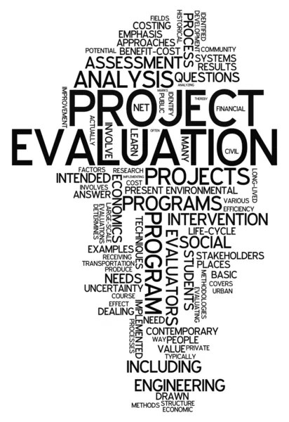 Word Cloud Project Evaluation — Stock Photo © mindscanner