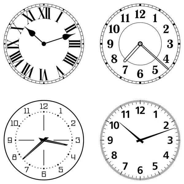 Clock face Stock Vectors, Royalty Free Clock face