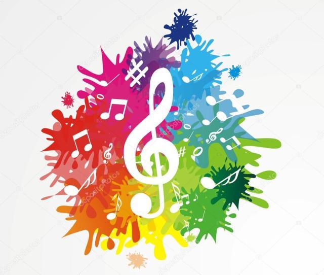 Gambar Doodle Keren Music Background Stock Vector