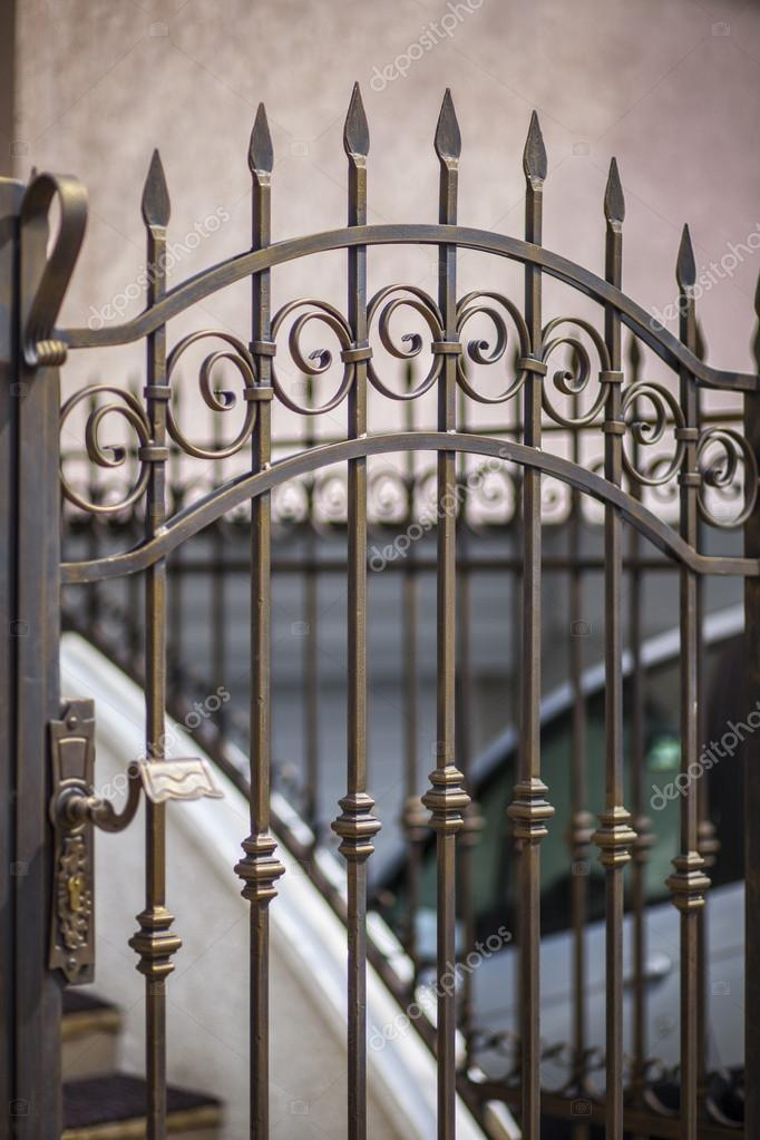 detail of patio doors made of wrought iron stock photo image by c dimitarmitev 46384177