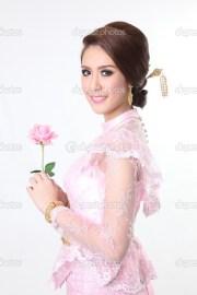 elegant fashion asian woman posing