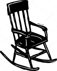 Rocking Chair  Stock Vector  ronjoe #29844345