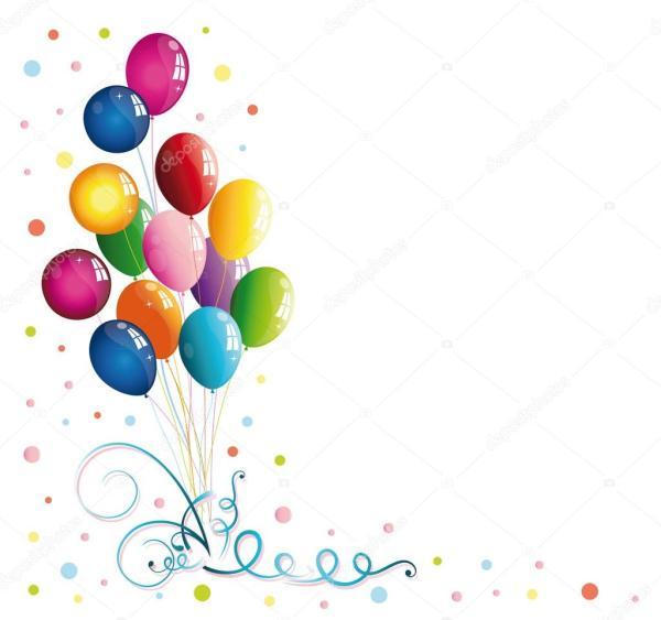 luftballons luftschlangen konfetti