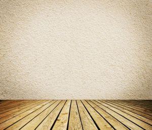 Pusty pokój z białe ściany i drewniane podłogi tło wnetrze Zdjęcie stockowe © ulkan #35392695