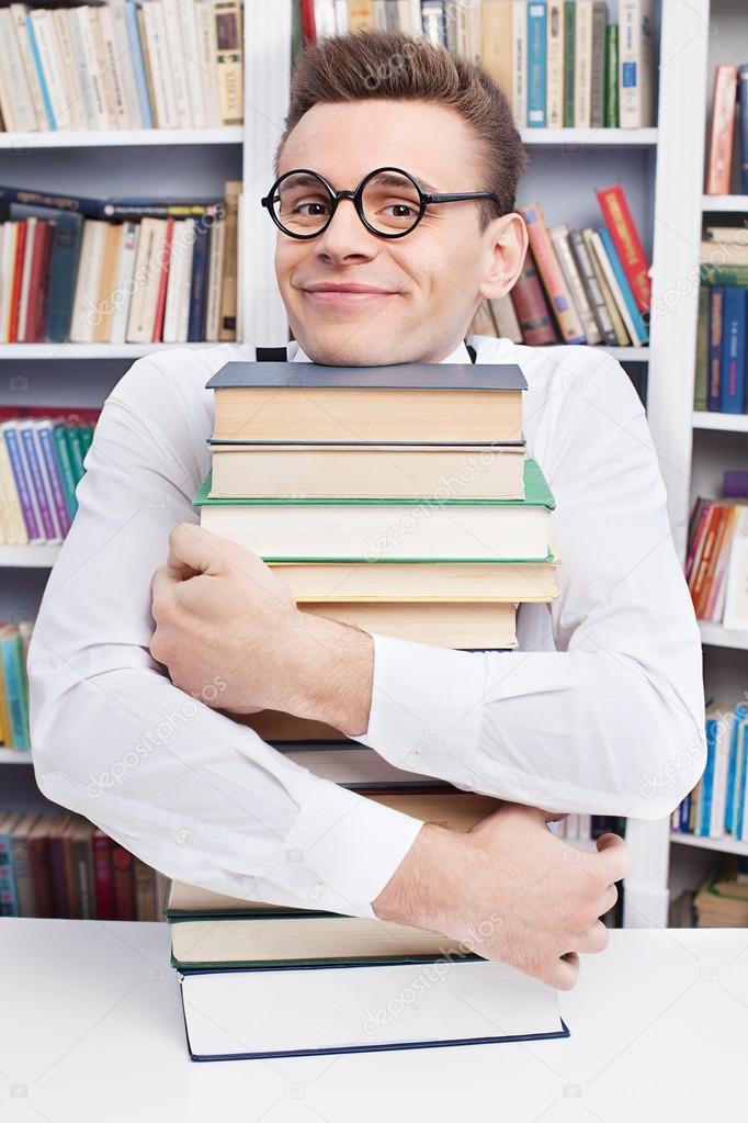 Image result for Hugging a book