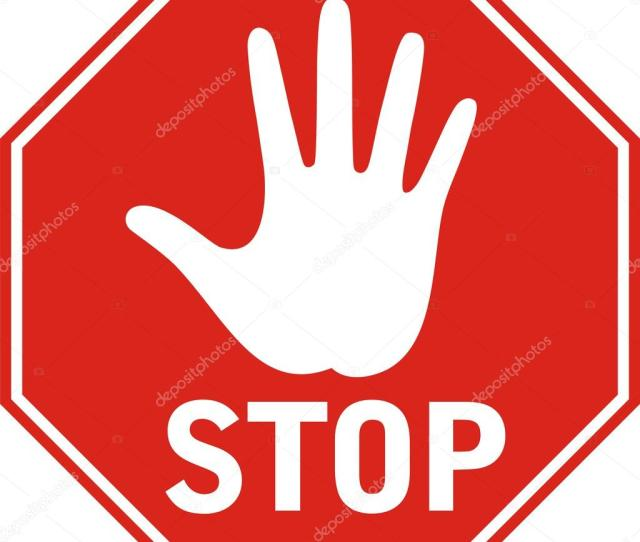 Stop Sign Stock Vector