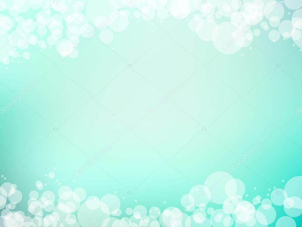 Cute Mint Blue Wallpapers Mint Green Blurry Background Vector Illustration Stock