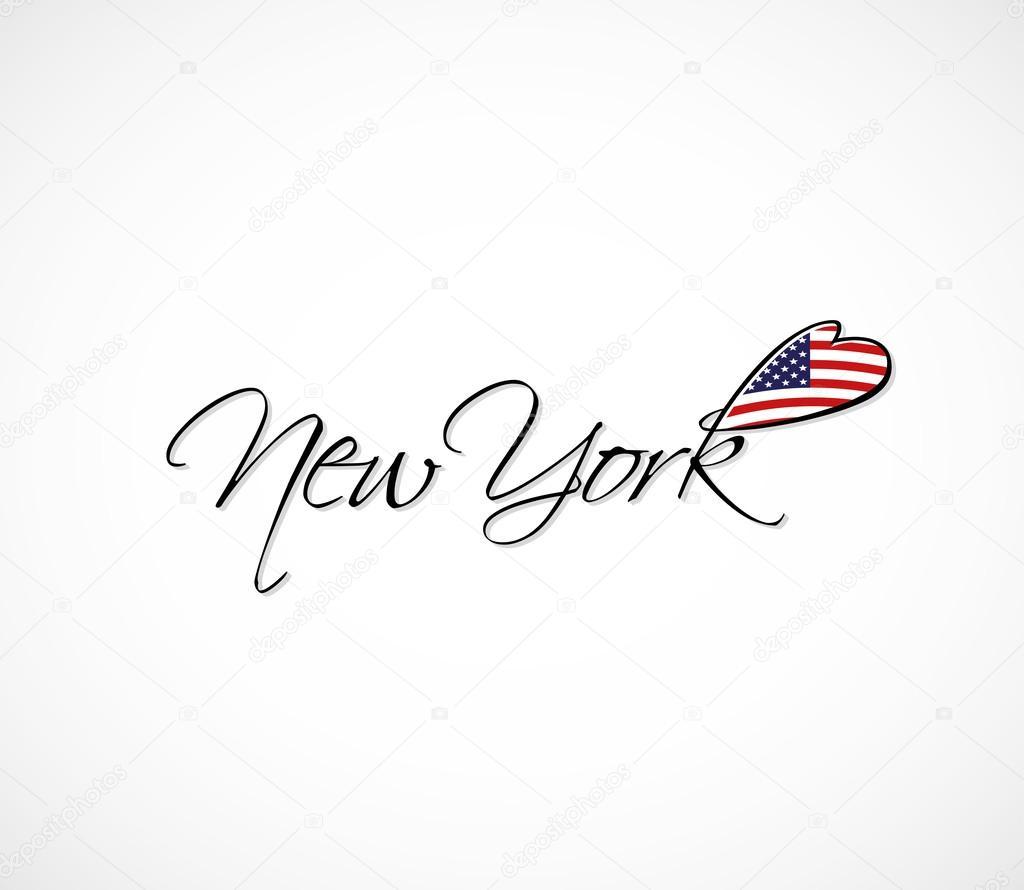 Letras de Nueva York — Archivo Imágenes Vectoriales © I