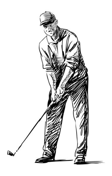 Golfing Stock Vectors, Royalty Free Golfing Illustrations