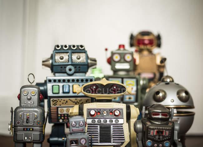 childhood retro toys mechanical