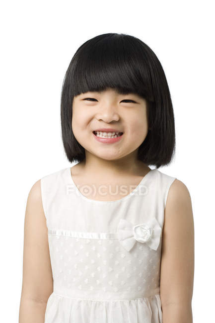 portrait of little chinese