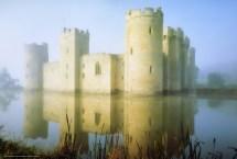 Castle Near Water Wallpaper