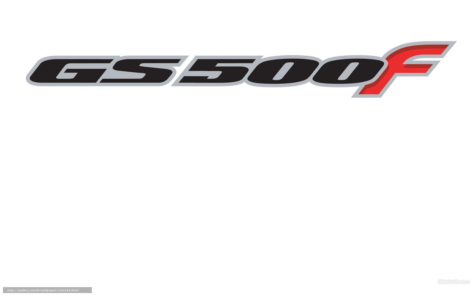 Descargar gratis Suzuki, Tradicional, GS500F, 2004 GS500F