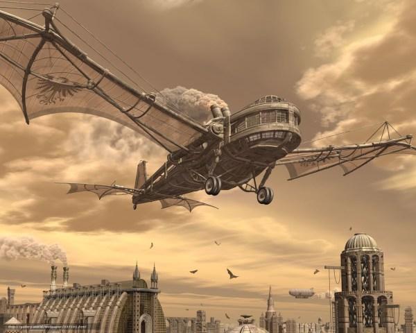 Steampunk Art Cities Steampunkart Sff