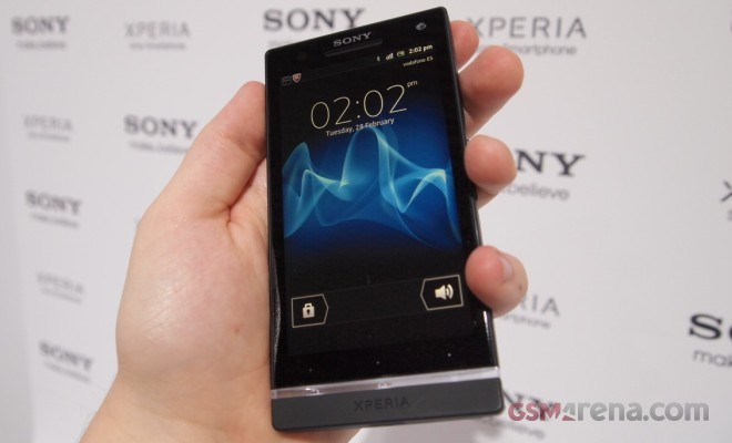 The new Sony Xperia S