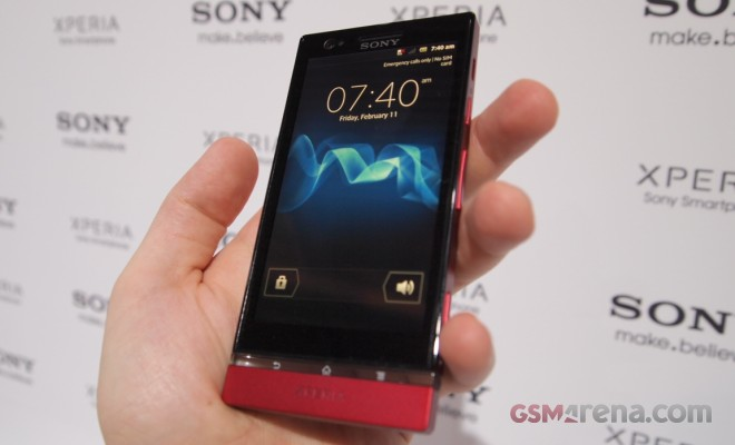 The new Sony Xperia P