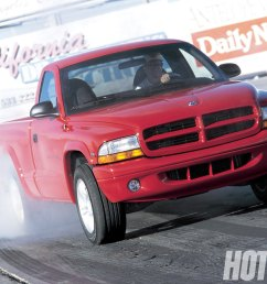 hrdp 9808 01 o 1998 dodge dakota rt burning rubber [ 1600 x 1200 Pixel ]