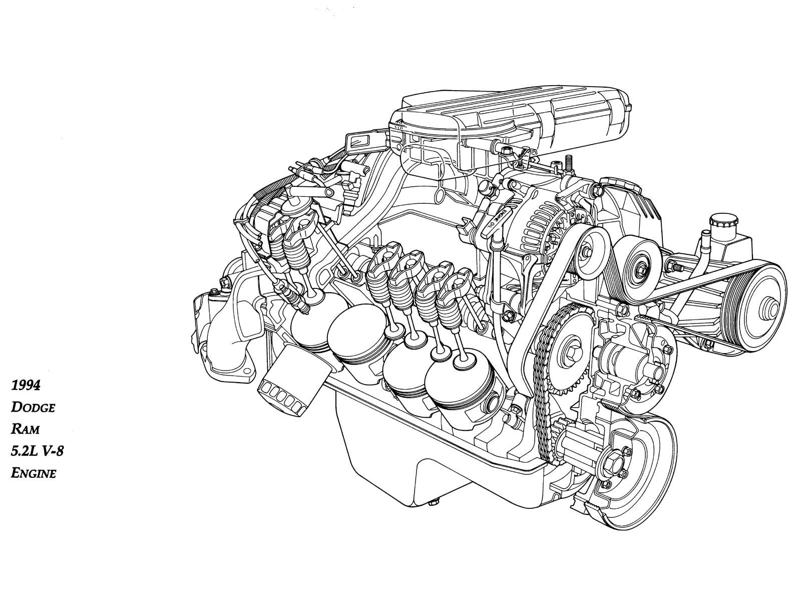 Model Car Engines