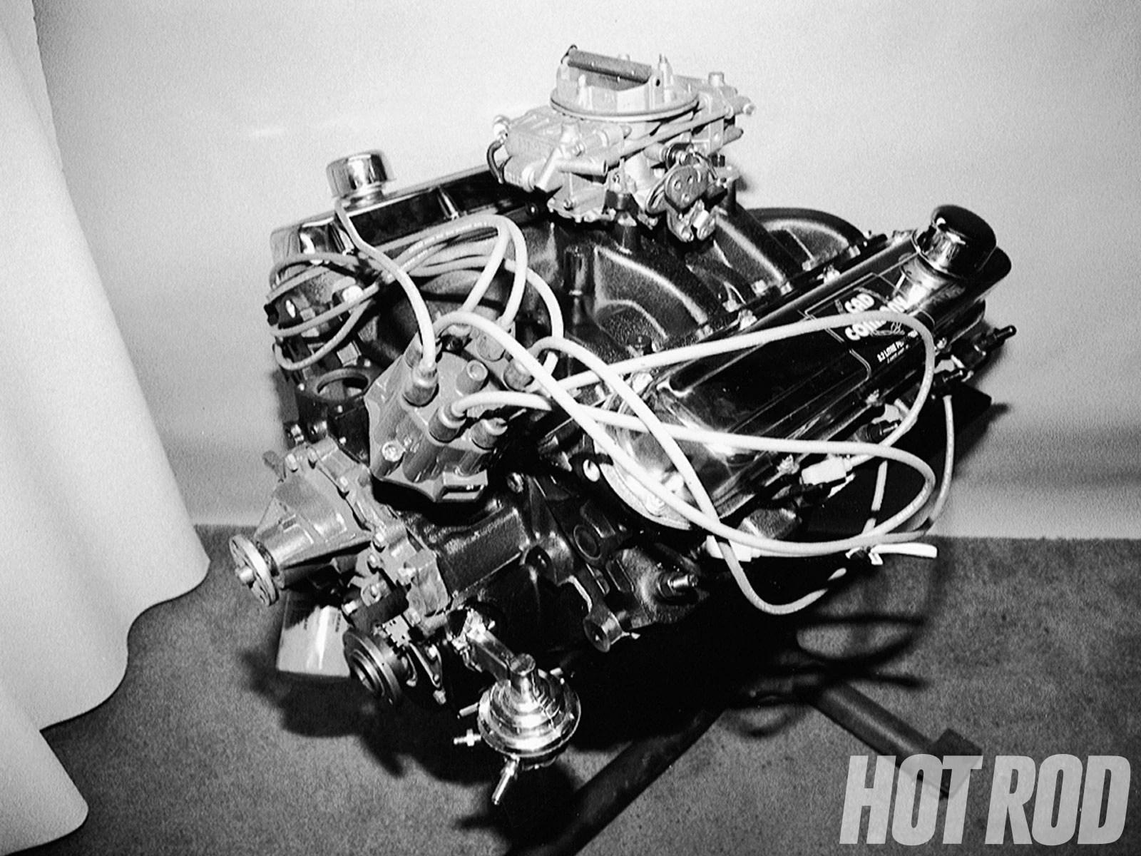 hight resolution of hrdp 9809 01 o 500ci cadillac big block engine build complete engine built