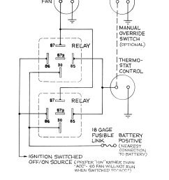 universal dual fan relay wiring diagram wiring library [ 1200 x 1600 Pixel ]