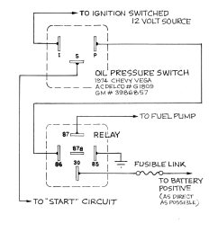 12 volt fuel pump relay wiring diagram [ 1600 x 1200 Pixel ]