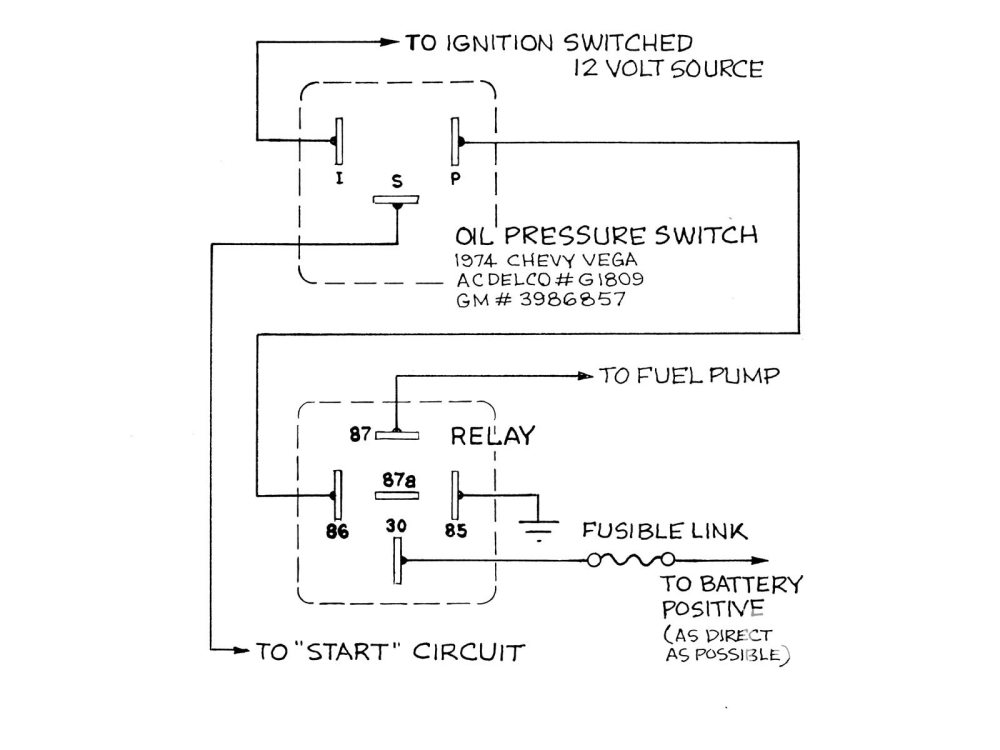 medium resolution of 12 volt fuel pump relay wiring diagram