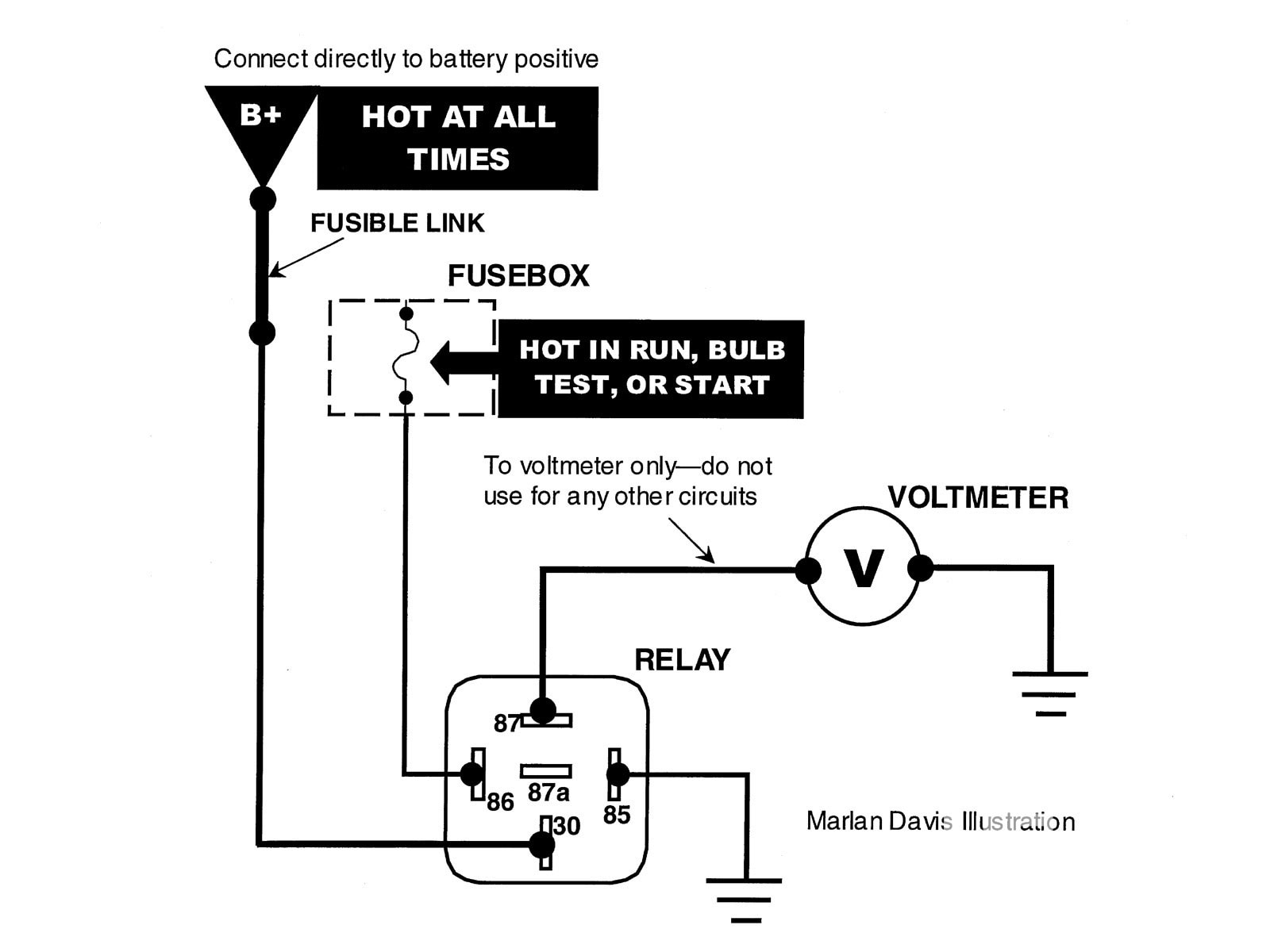 30 Fan Relay Wiring Diagram