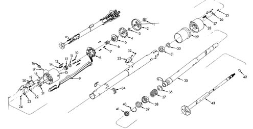 63 Chevy C10 Steering Column Diagram, 63, Free Engine