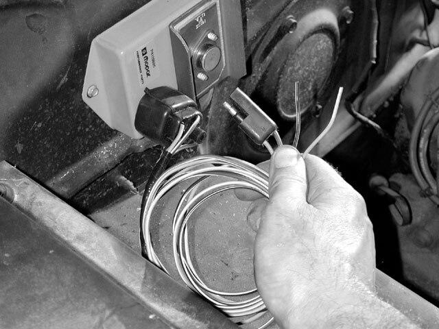 Electronic Distributor Wiring