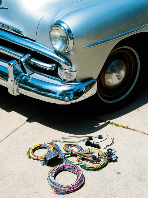 Rewiring Kit For A 1951 Plymouth Instructional How To Rod And