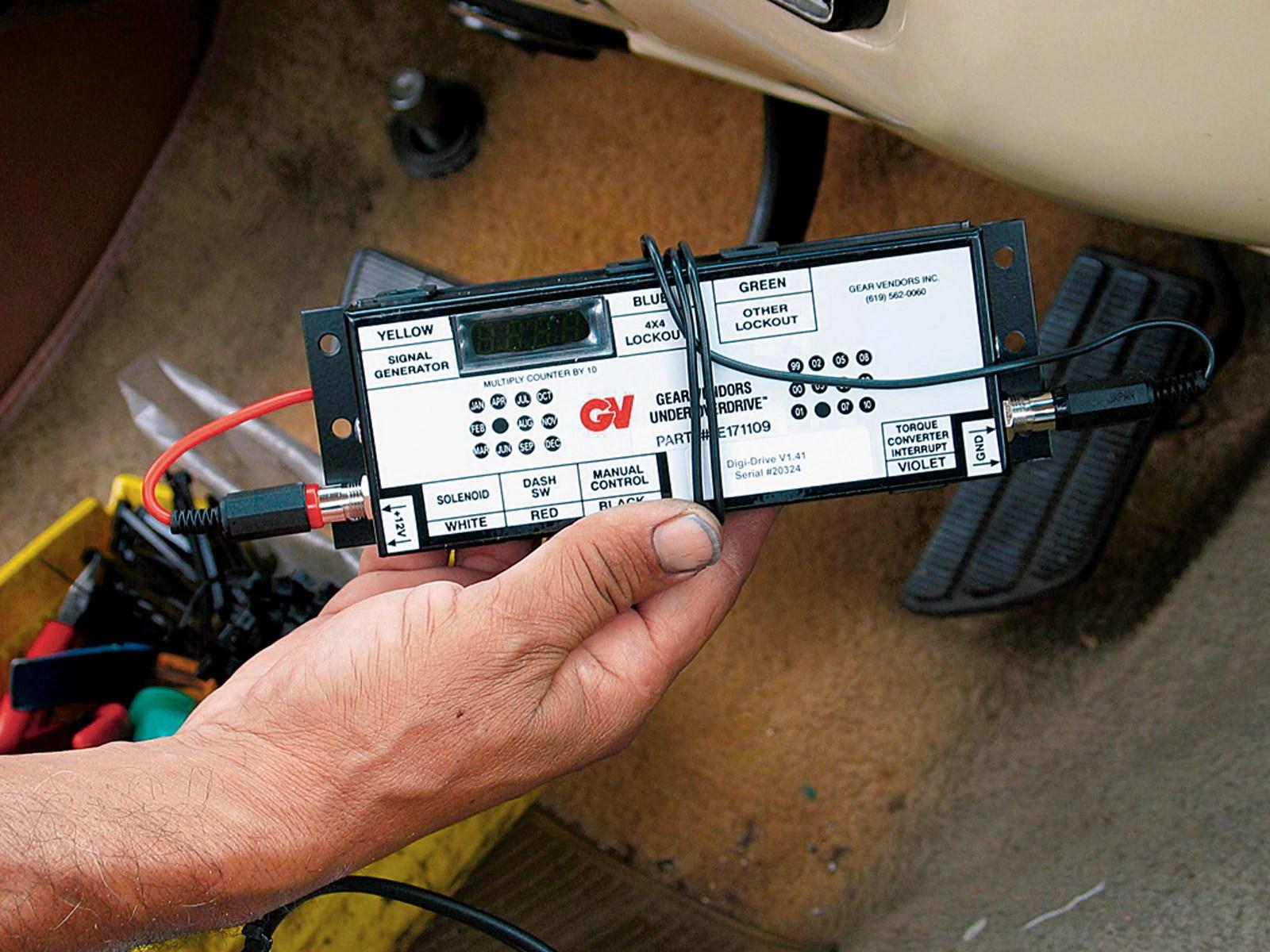 gear vendors overdrive wiring diagram 1996 toyota 4runner f350 brake