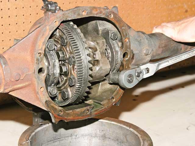 Dodge Dakota Engine Diagram Strengthening The Rearend From An Ls1 Firebird Formula