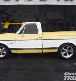 0612clt 12 o 1971 chevy cheyenne pickup truck side shot [ 1600 x 1200 Pixel ]