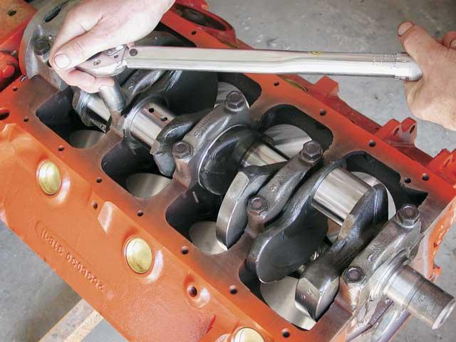 318 Engine Build
